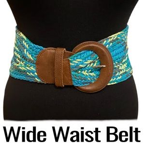 Women's Wide Waist with Large Buckle Size Small